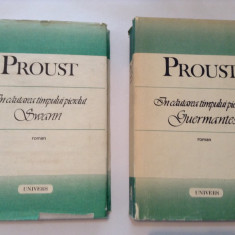 PROUST IN CAUTAREA TIMPULUI PIERDUT  GUERMANTES/SWANN,P4, 1989
