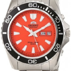 Orient Men's Orange Mako XL | 100% original, import SUA, 10 zile lucratoare a22207 - Ceas barbatesc Orient, Mecanic-Automatic
