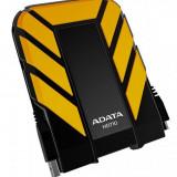 Hard disk extern A-Data HD710, 500GB, 2.5 inch, USB 3.0, galben