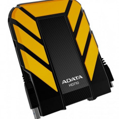 Hard disk extern A-Data HD710, 500GB, 2.5 inch, USB 3.0, galben - HDD extern