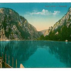 2927 - ORSOVA, Kazane, boat - old postcard - unused - Carte Postala Oltenia 1904-1918, Necirculata, Printata