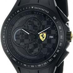 Ferrari Men's 0830105 Race Day   100% original, import SUA, 10 zile lucratoare a22207 - Ceas barbatesc Ferrari, Lux - sport, Quartz
