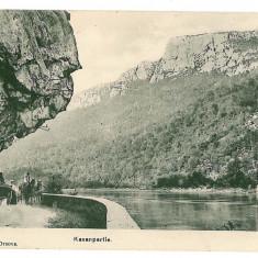 2930 - ORSOVA, KAZANE - old postcard - used - 1915 - Carte Postala Oltenia 1904-1918, Circulata, Printata