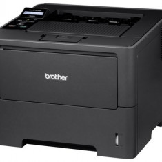 Imprimanta laser Brother HL-6180DW, monocrom A4, 40ppm, duplex, WiFi - Imprimanta laser alb negru Brother, DPI: 1200, 40-44 ppm