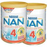 NAN Pachet lapte praf Nestle NAN 4 2*400g de la 18 luni