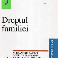 ALEXANDRU BACACI - DREPTUL FAMILIEI, curs universitar - Carte Dreptul familiei