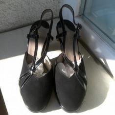 SANDALA ELEGANTA BALLY MARIME 4 1/2 - Sandale dama Bally, Culoare: Negru, Marime: Alta