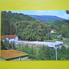 HOPCT 11921 BAILE MONEASA - STRANDUL - JUDETUL ARAD [ CIRCULATA ] - Carte Postala Crisana dupa 1918, Printata