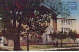 Ok-1588- Romania, Nagyvarad, Oradea c.p. circulata 1917: Scoala de Jandarmi, Fotografie