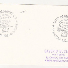 Bnk cp Italia 1979 imprimat aerofilatelie