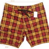 Pantaloni scurti casual/baie BURTON deosebiti, impecabili (L spre M) cod-260362 - Bermude barbati, Marime: M/L