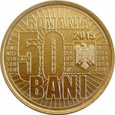 50 BANI 2015 JUBILIARA UNC / 50 BANI 2015 COMUNA UNC DIN FISIC, Alama