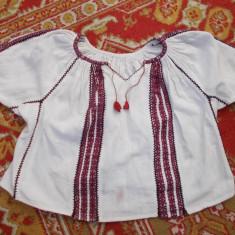 IE PENTRU COPII - Costum populare, Marime: 34, Culoare: Alb