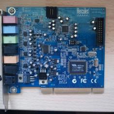 Placa de sunet Hercules Fortissimo 4. - Placa de sunet PC Hercules, PCI
