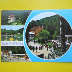 HOPCT 11920 BAILE MONEASA - - JUDETUL ARAD [ CIRCULATA ] - Carte Postala Crisana dupa 1918, Printata