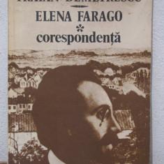 TRAIAN DEMETRESCU.ELENA FARAGO -CORESPONDENTA - Biografie