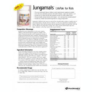 JUNGAMALS – LifePak pentru copii. Multivitamine si minerale pentru copii
