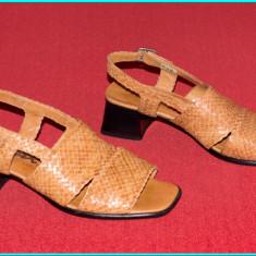 NOI → Sandale piele, DE CALITATE, comode, usoare, fiabile, SIOUX → femei | nr 38 - Sandale dama, Culoare: Din imagine, Piele naturala