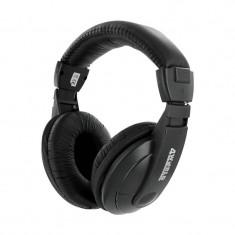 Casti 4World HiFi 04164, headphones, negre, Casti On Ear, Cu fir, Mufa 3, 5mm