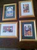 Set tablouri - acuarela (pictor cont. Norvegian)