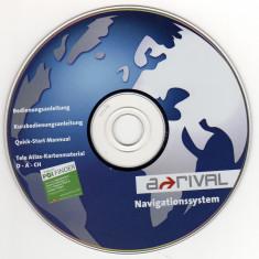 GPS-CD instalare / actualizare harţi pentru Navigator GPS Arrival (2007) - Software GPS