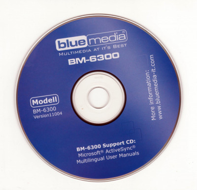 CD instalare pentru Navigatie GPS - Blue Media BM-6300 foto