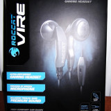 Casti ROCCAT Vire ORIGINAL (Mobile Communication Gaming Headset) -noi,sigilate, Casti cu microfon