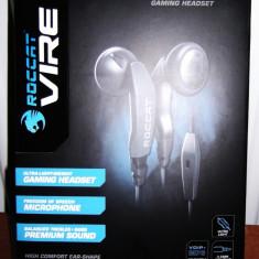 Casti ROCCAT Vire ORIGINAL (Mobile Communication Gaming Headset) -noi, sigilate - Casca PC Roccat, Casti cu microfon
