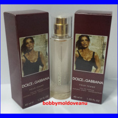 TESTER FIOLA DAMA DOLCE&GABBANA POUR FEMME - 40ML - Parfum femeie Dolce & Gabbana, Altul
