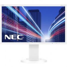 Monitor LED NEC MultiSync E224Wi, 21.5 inch, 1920 x 1080 Full HD, alb