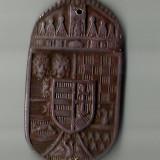 STEMA MAGHIARA VECHE,UNGARIA MARE 1866-1918, FOARTE FRUMOASA CUPRU !!