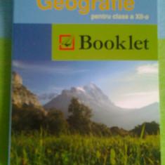 Memorator Geografie clasa a XII-a (pt. Bacalaureat) - Teste Bacalaureat booklet