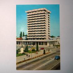 Bacau, hotel Decebal - 1970 - circulata - 2+1 gratis - RBK9159 - Carte Postala Moldova dupa 1918, Fotografie