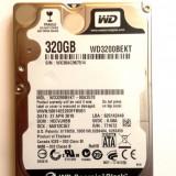 HARD DISK LAPTOP WD Scorpio Black 320 GB - TRANSPORT GRATUIT, 300-499 GB, 7200, SATA2, Western Digital