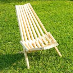 Scaun pliant din lemn pentru gradina sau terasa - Scaun gradina