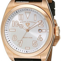 Swiss Legend Men's 20434-RG-02S Heritage | 100% original, import SUA, 10 zile lucratoare a12107 - Ceas barbatesc Swiss Legend, Quartz