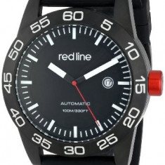 Red line Men's RL-50045-BB-01-BK-ST Mileage | 100% original, import SUA, 10 zile lucratoare a12107 - Ceas barbatesc Red Line, Mecanic-Automatic