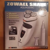 Aparat de ras multifunctional reincarcabil 3 in 1 - Zowael Shave, Numar dispozitive taiere: 3