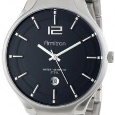 Armitron Men's 20 4914BKSV Stainless | 100% original, import SUA, 10 zile lucratoare a42707 - Ceas barbatesc Armitron, Elegant