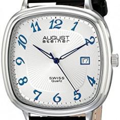 August Steiner Men's AS8155SS Analog | 100% original, import SUA, 10 zile lucratoare a42707 - Ceas barbatesc August Steiner, Quartz