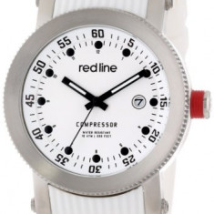Red line Men's RL-18000-02-WHT-ST-SET Compressor | 100% original, import SUA, 10 zile lucratoare a12107 - Ceas barbatesc Red Line, Quartz