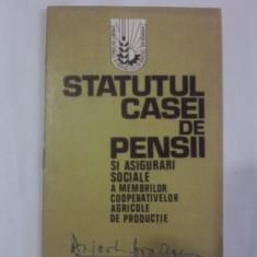 Statutul Casei de Pensii 1972 /  C1DP
