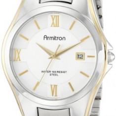 Armitron Men's 20 4413SVTT Two-Tone | 100% original, import SUA, 10 zile lucratoare a42707 - Ceas barbatesc Armitron, Elegant, Quartz