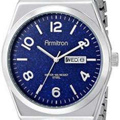 Armitron Men's 20 4967BLSV Blue | 100% original, import SUA, 10 zile lucratoare a42707 - Ceas barbatesc Armitron, Elegant, Quartz