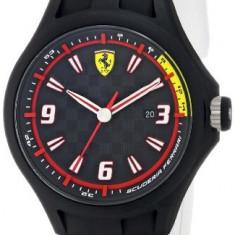 Ferrari Men's 0830004 Analog Display | 100% original, import SUA, 10 zile lucratoare a12107 - Ceas barbatesc Ferrari, Quartz
