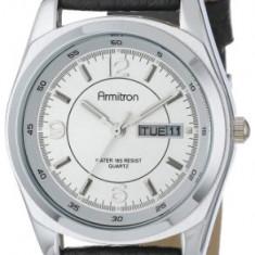 Armitron Men's 201927SVBK Silver-Tone Dress | 100% original, import SUA, 10 zile lucratoare a42707 - Ceas barbatesc Armitron, Casual