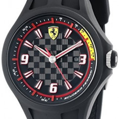 Ferrari Men's 0830005 Pit Crew | 100% original, import SUA, 10 zile lucratoare a12107 - Ceas barbatesc Ferrari, Quartz