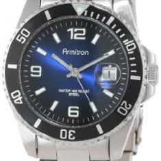 Armitron Men's 204622DBSV Stainless Steel | 100% original, import SUA, 10 zile lucratoare a42707 - Ceas barbatesc Armitron, Sport, Quartz, Otel
