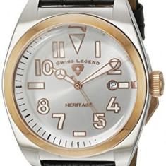 Swiss Legend Men's 20434-02S-RB Heritage | 100% original, import SUA, 10 zile lucratoare a42707 - Ceas barbatesc Swiss Legend, Quartz