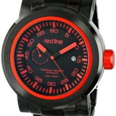 Red line Men's RL-50046-BB-11RD Torque | 100% original, import SUA, 10 zile lucratoare a12107 - Ceas barbatesc Red Line, Sport, Mecanic-Automatic